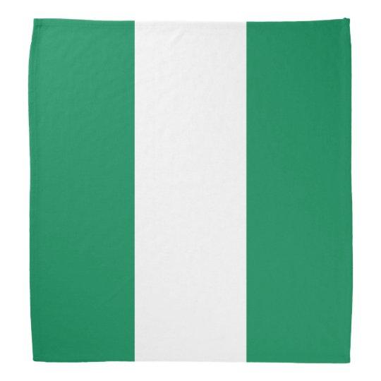 Nigeria Flag Bandanna