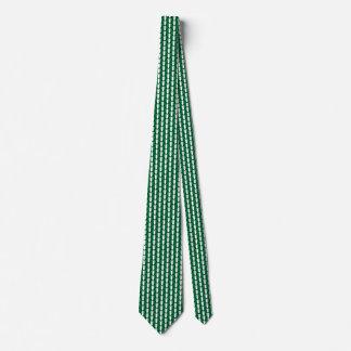 Nigeria Flag Hearts Tie