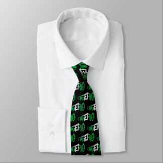 Nigeria Football Soccer Flag Tie