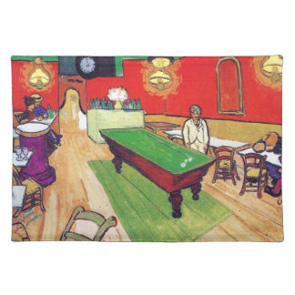 Night Cafe in Arles by Vincent Van Gogh Placemat