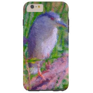 Night digital Heron art Tough iPhone 6 Plus Case