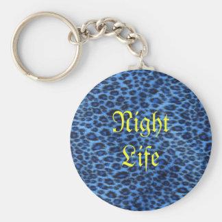 Night Life Key Chain