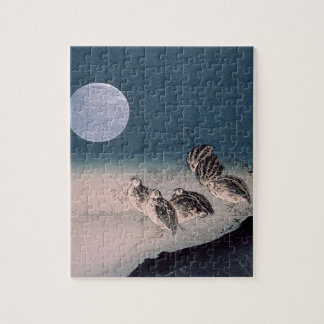 Night of the Quails Jigsaw Puzzle