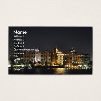 Night Shot Business Card