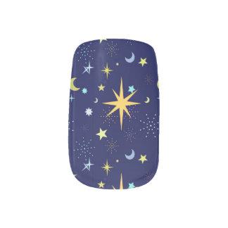 Night Sky Minx Nail Art