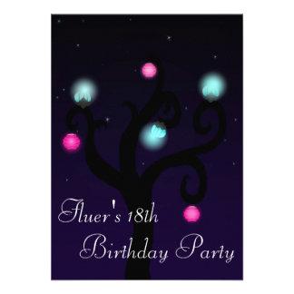 Night Tree Invite Custom Invites