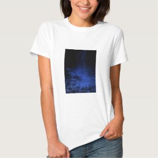 night waterfall tee shirts