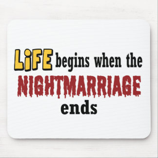 Nightmarriage Ends Mouse Pad