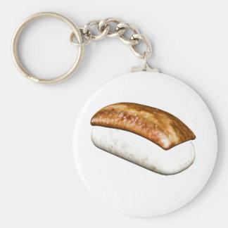 Nigiri Anago Sushi Basic Round Button Key Ring