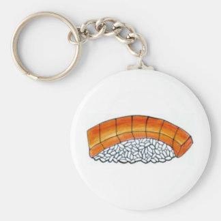 Nigiri Japanese Food Salmon Sushi Roll Keychain