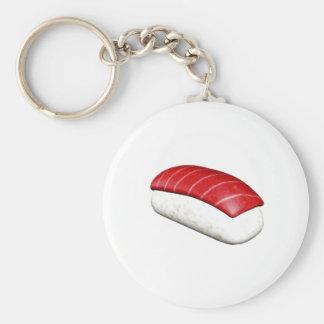 Nigiri Maguro Sushi Basic Round Button Key Ring