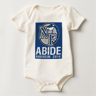 Nihilist Ferrets travel hockey team - Anaheim 2014 Baby Bodysuit