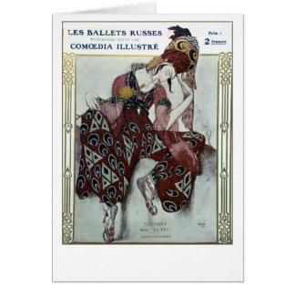 Nijinsky dans La Peri — Ballets Russes Card