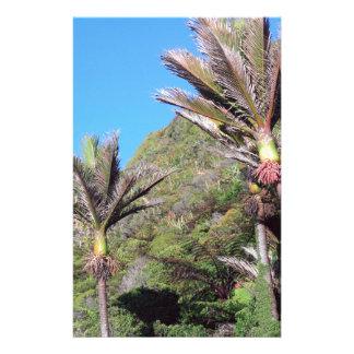 Nikau palms iconic New Zealand trees Stationery