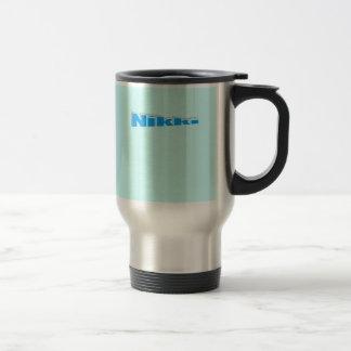 Nikki's travel mug