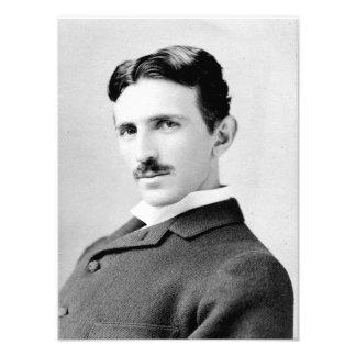 Nikola Tesla Portrait Photo Print