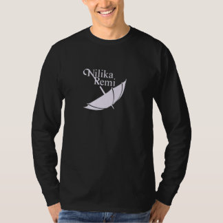 Nilika Remi black long sleeve T-Shirt