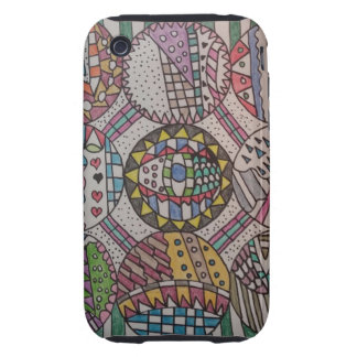 Nine Circles Design iPhone 3G/3GS Case iPhone 3 Tough Covers