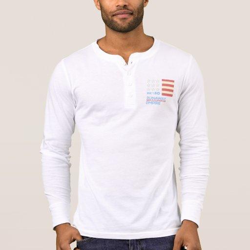 Nine Out of Ten men's henley T-shirts