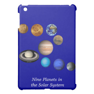 Nine Planets in the Solar System iPad Mini Case