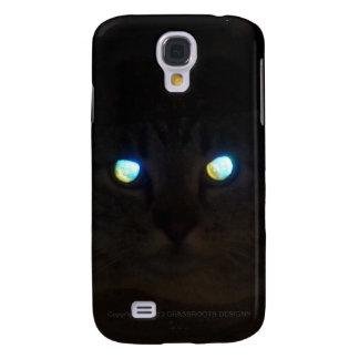 Ninja Cat with Eyes a Glow Galaxy S4 Case