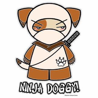 Ninja Doggy! Photo Sculpture