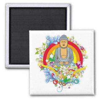 Nirvana Buddha Fridge Magnet