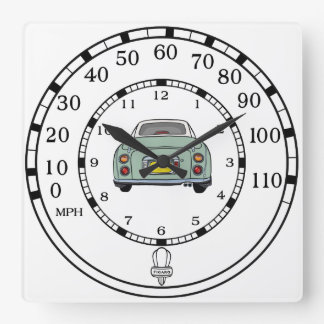 Nissan Figaro - Emerald Green- Speedometer Clock