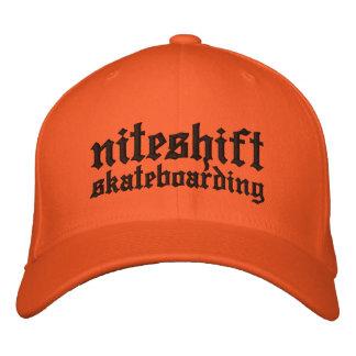 Niteshift Flexfit Cap Embroidered Baseball Cap