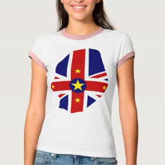 Niue flag map T-Shirt