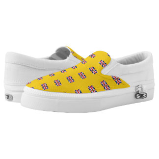 NIUE FLAG --.png Slip-On Shoes