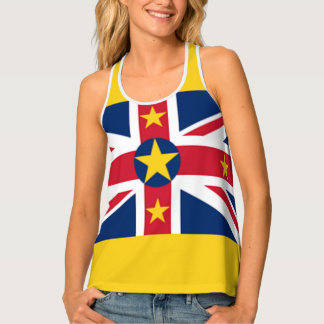 Niue Flag Singlet