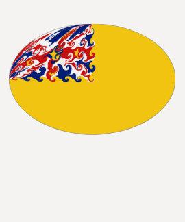 Niue Gnarly Flag T-Shirt