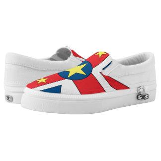 Niue Island Slip-On Shoes