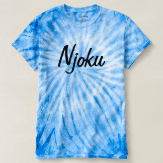Njoku Cyclone 'Blue' Tie Dye T-Shirt. Shirts