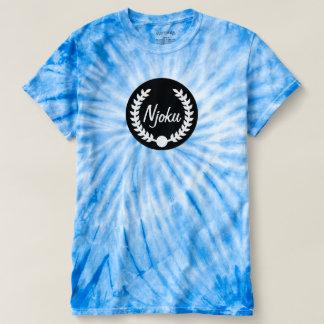 Njoku 'Wreath' Cyclone Tie-Dye T-Shirt. Tshirt