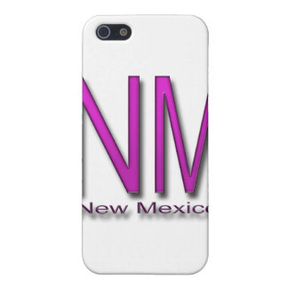 NM New Mexico magenta iPhone 5/5S Cases