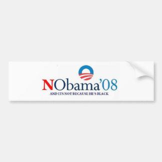 No Bama 08 Bumper Sticker