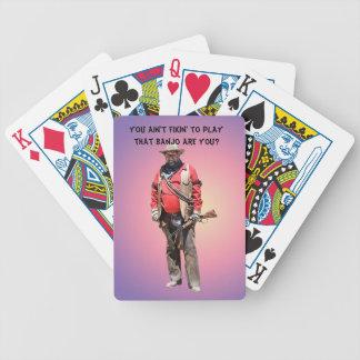 NO BANJO BICYCLE PLAYING CARDS
