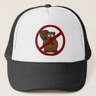 no beavers trucker hat