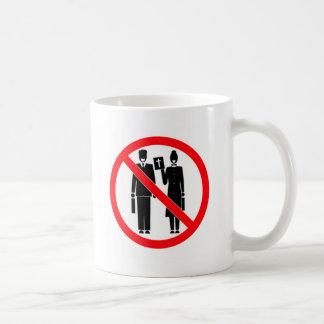 No Bible Thumpers Coffee Mug