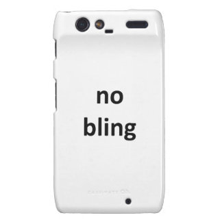 no bling36 jGibney The MUSEUM Zazzle Gifts Motorola Droid RAZR Cover