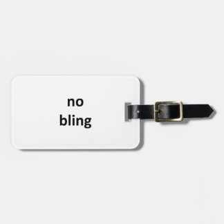 no bling jGibney The MUSEUM Zazzle Gifts png Bag Tag