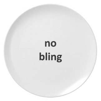 no bling jGibney The MUSEUM Zazzle Gifts png Party Plate