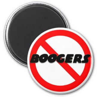 No Boogers Magnet