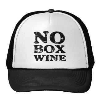 No Box Wine Trucker Hat
