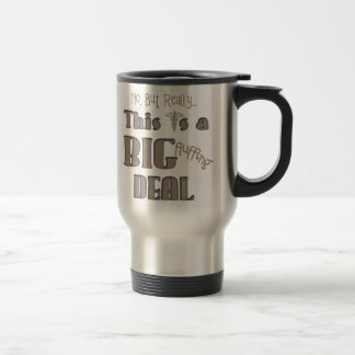 No But Really Stainless Steel Travel Mug
