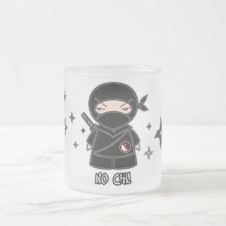 No Chi! Ninja With Shurikens Mug