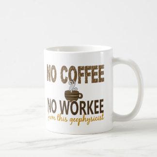 No Coffee No Workee Geophysicist Coffee Mug