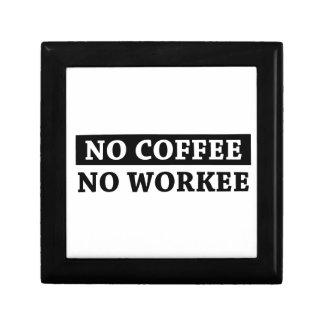 No Coffee No Workee Gift Box